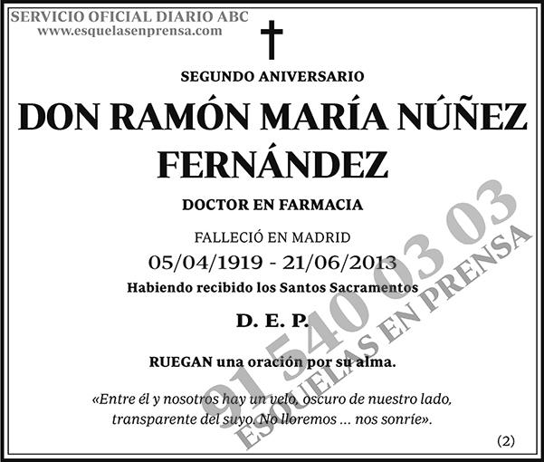 Ramón María Núñez Fernández